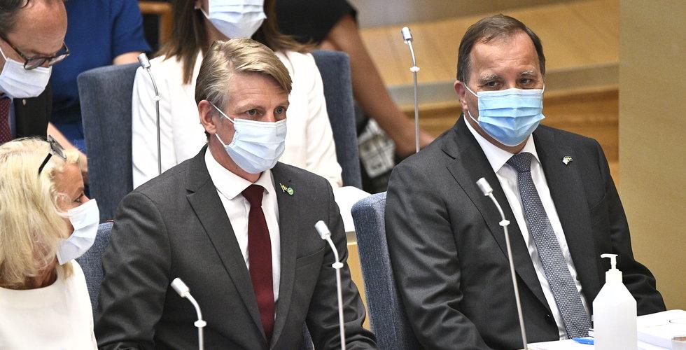 Stefan Löfven röstas ner – regeringen faller