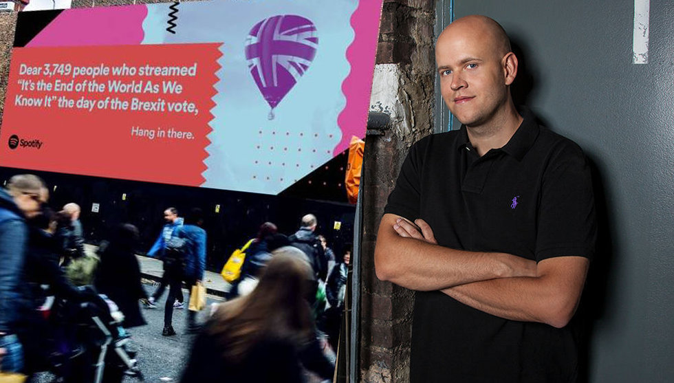 Breakit - Spotify säger hejdå till 2016 med sin största reklamkampanj hittills
