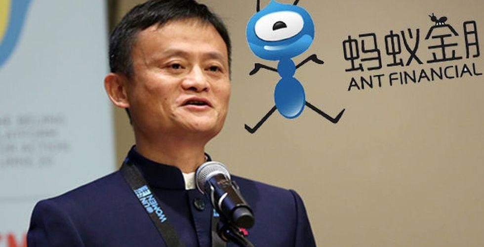 Breakit - Alibabas finansmyra har stängt rekordstor finansieringsrunda