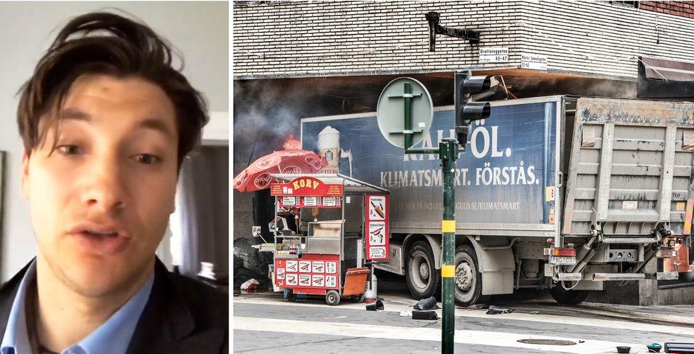"""Entreprenören Alexander Pärleros: """"Jag sprang för mitt liv"""""""