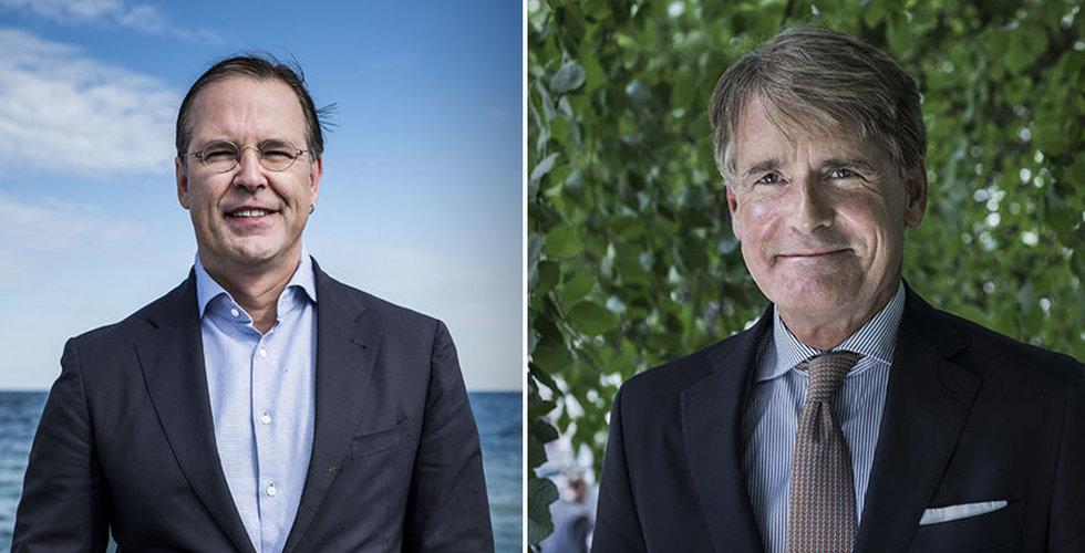 Anders Borg och Christer Gardell investerar i bankutmanaren Lysa