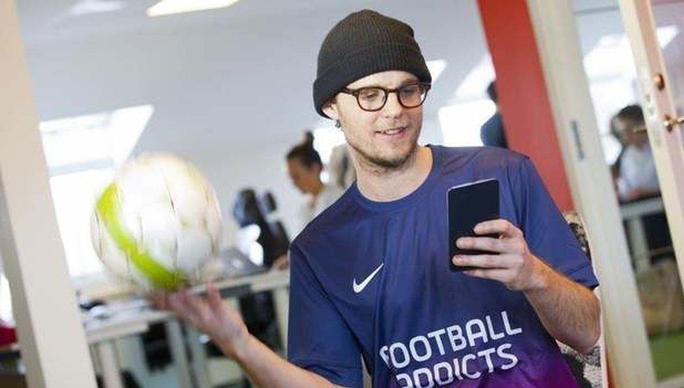 Techbolaget Football Addicts lanserar nyhetsapp för supportrar