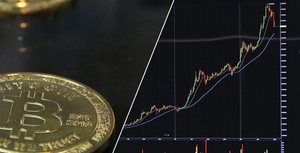 Bitcoin faller under 30 000 dollar - andra kryptovalutor följer med ner