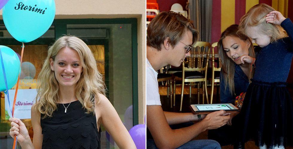 Breakit - Hon driver sitt Storimi från USA – landar avtal med svenska bokförlag