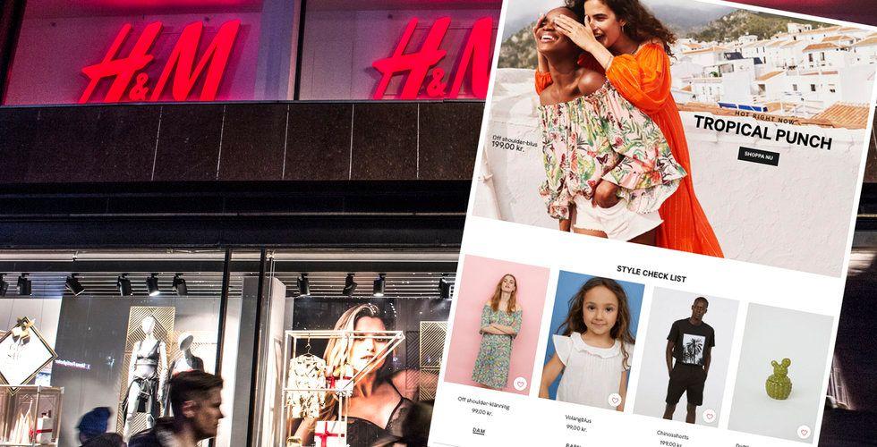 Breakit - E-handelstrubbel för H&M – klädjätten missar målen rejält