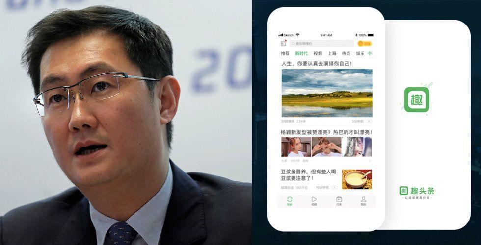 Tencent-backade Qutoutiao ansöker om börsnotering