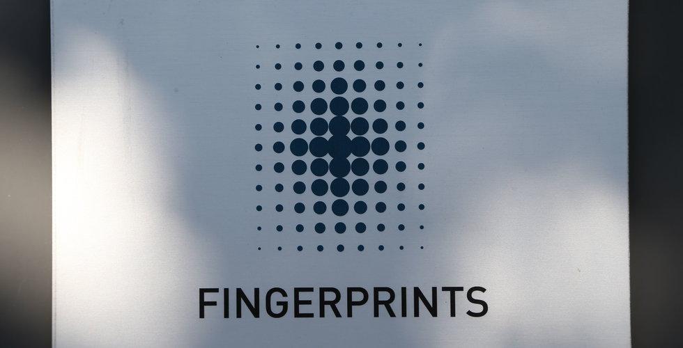 """Breakit - Sämre än väntat för Fingerprint: """"Prispress"""""""