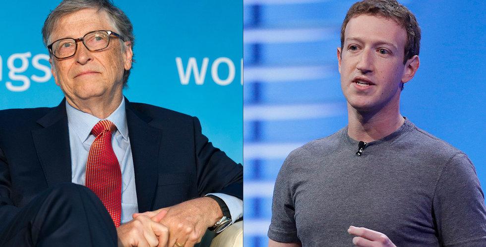 Breakit - Gates och Zuckerbergs jättefond investerar i framtiden