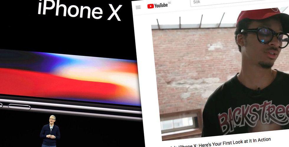 Breakit - Apples nya drag vid lanseringen av Iphone X – använder sig av influencers