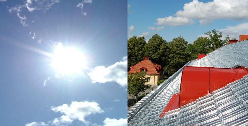Soltech vill byta ut alla takpannor mot solfångare - går till börsen