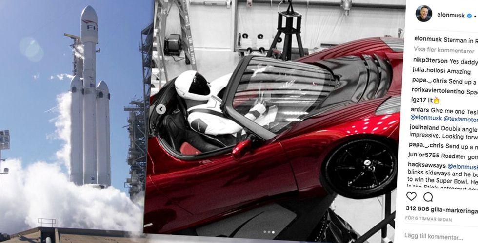 Breakit - Musks nya monsterraket till rymden – med en Tesla i lasten
