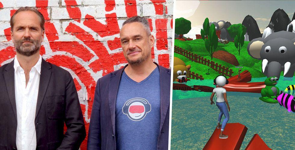 Hibers plattform låter alla skapa spel – tar in 121 miljoner