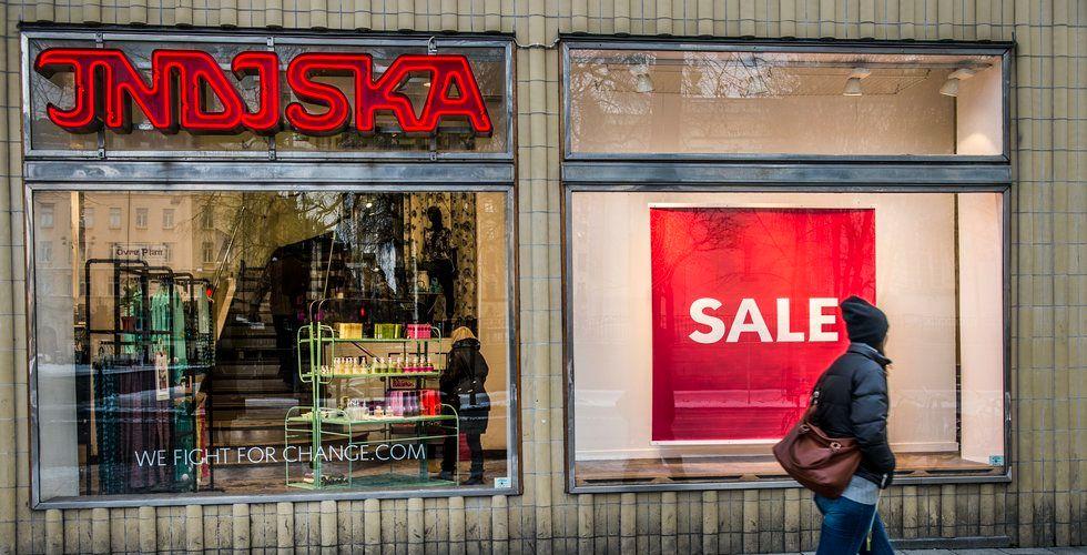 Breakit - Efter brakförlusten - klädkedjan Indiska stänger butiker
