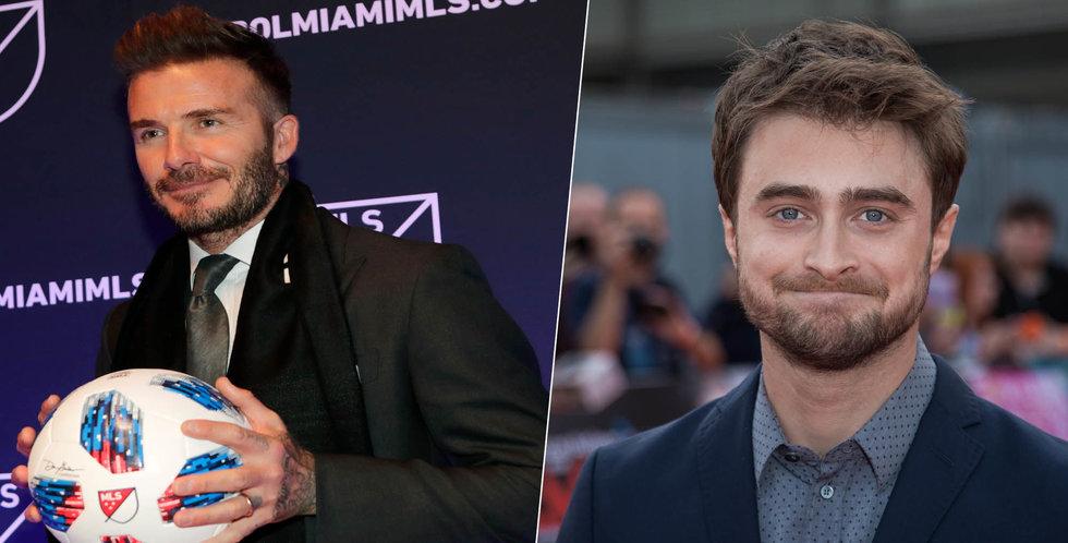 Spotify ska väcka liv i Harry Potter – med hjälp av Beckham