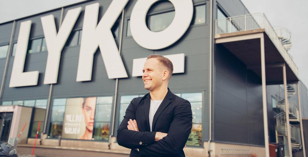 Lyko behåller tre av Make Up Stores butiker