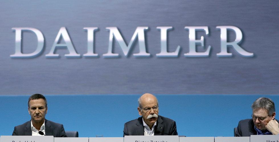 BMW och Daimler i samarbete kring autonoma bilar
