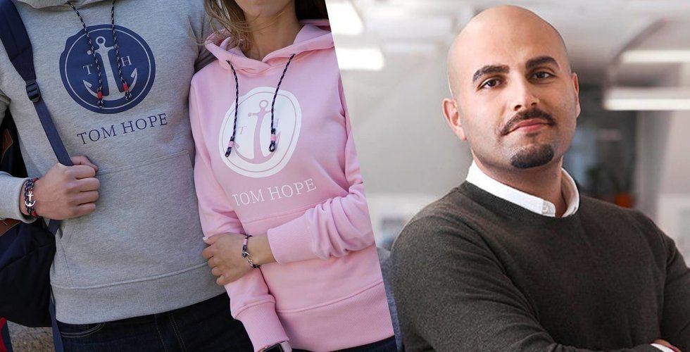 Tom Hopes nya drag – börjar sälja kläder