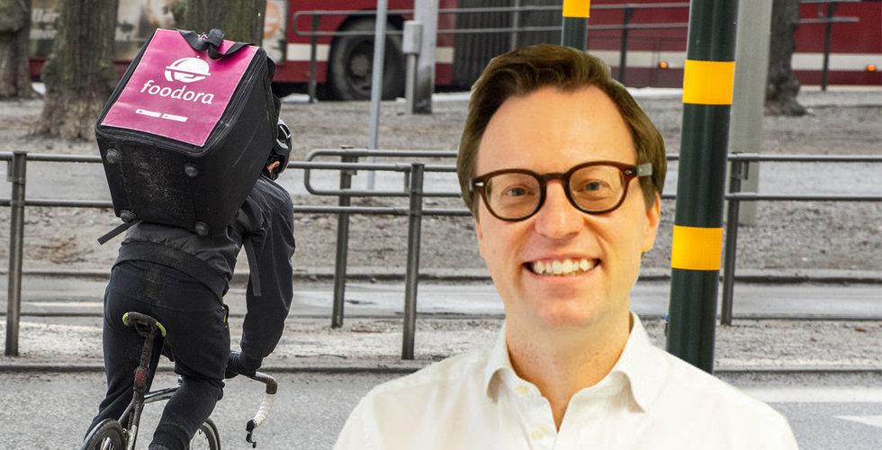 Hans Skruvfors blir ny chef för Foodora i Sverige