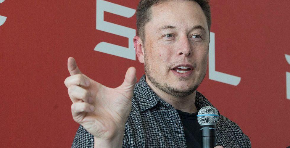 Elon Musk: Teslas värdering är högre än bolaget förtjänar