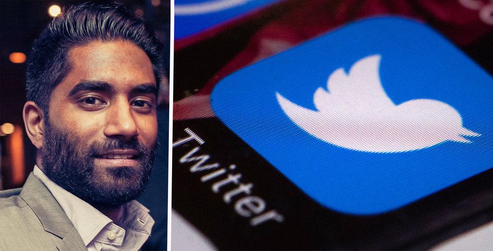 Faje Gani har slutat som Nordenchef för Twitter
