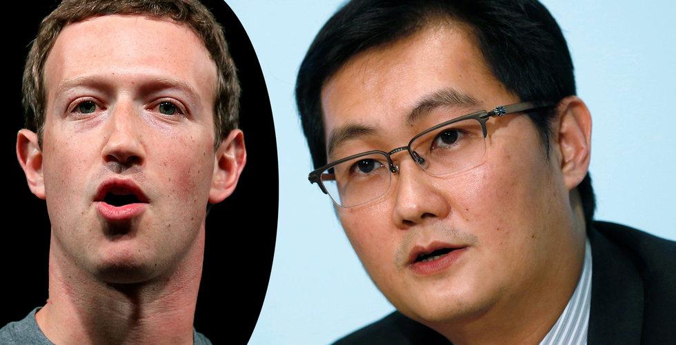 """""""Kinas Facebook"""" har nu över 1 miljard användare"""