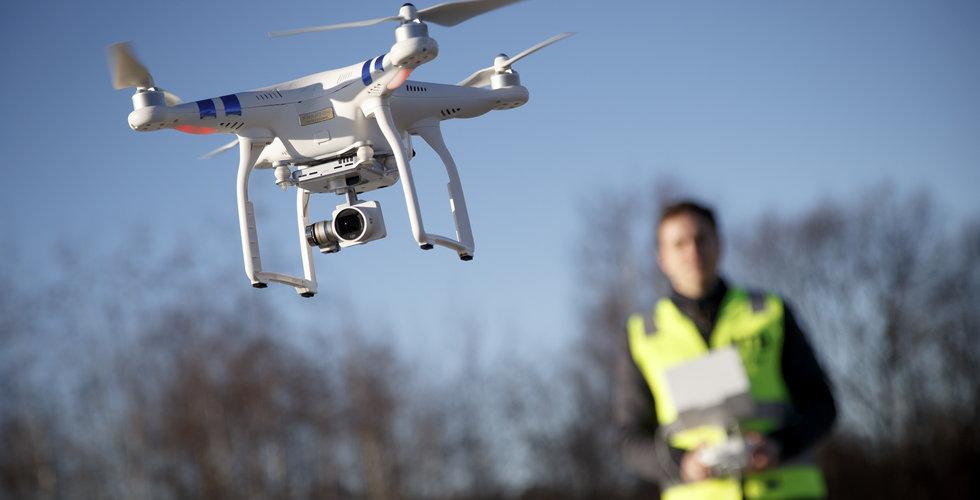Glädjebesked för drönarbolag – får flyga och fota i hela Sverige
