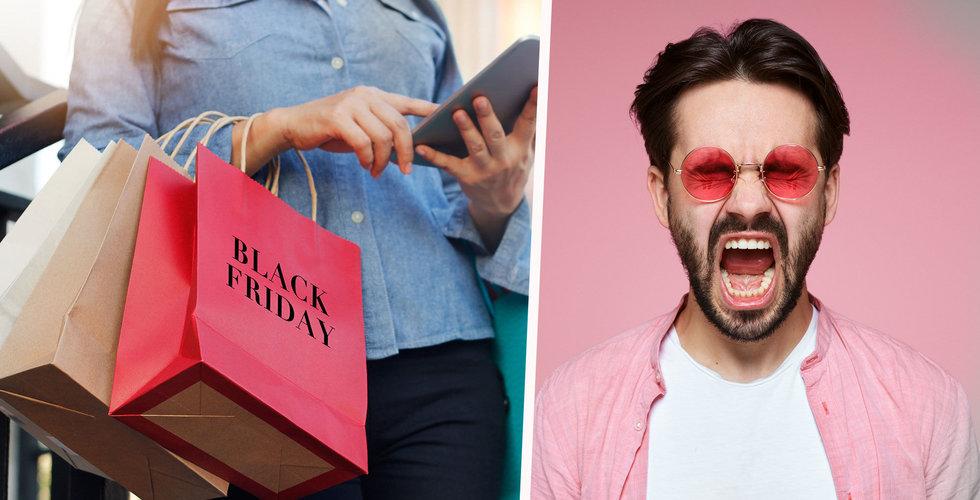 Black Friday-hetsen sprider ut sig – e-handlare satsar på Black Week