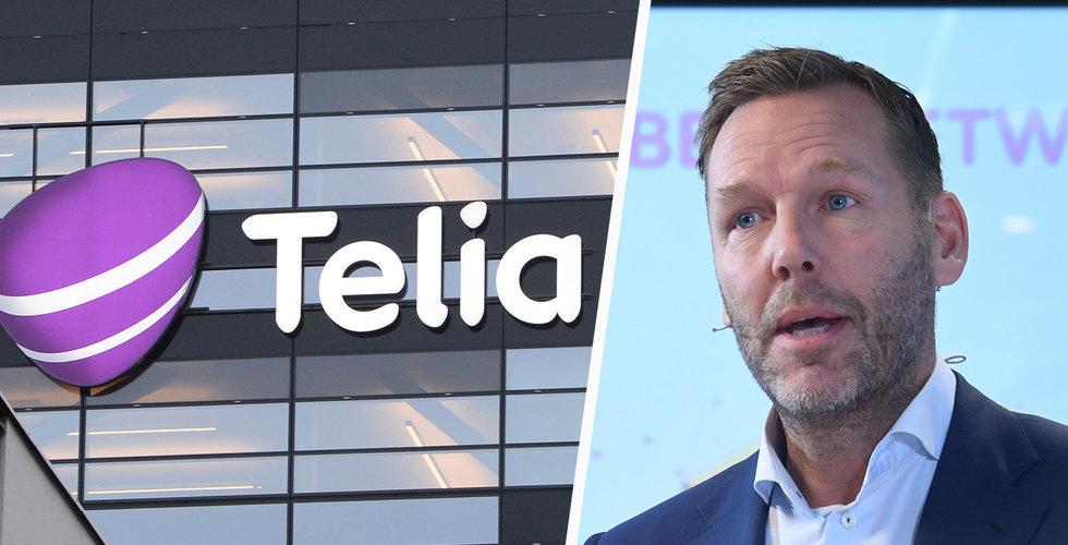 Majoritet i riksdagen för att sälja Telia