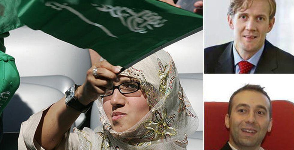 Pierre Siri och Henrik Persson bygger arabisk Blocket-klon