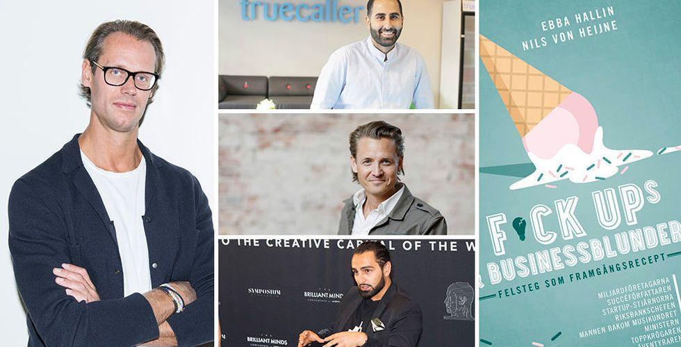Ny bok: Techprofiler berättar om sina stora felsteg i karriären