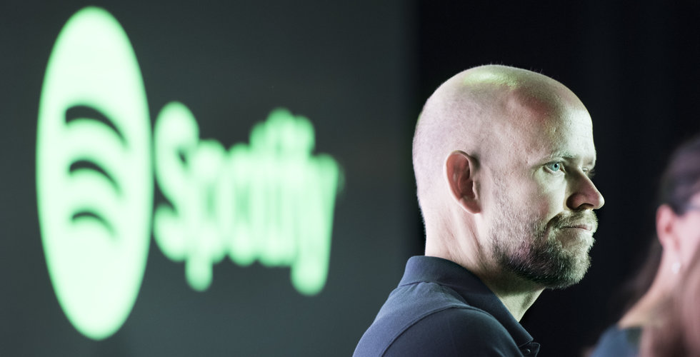 Spotify-aktien föll kraftigt – trots heta nyheterna
