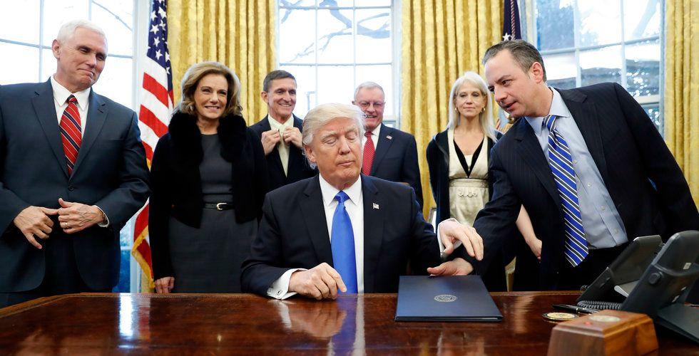 Breakit - Nytt förslag från Trump – techjättarna i USA kan tvingas tänka om