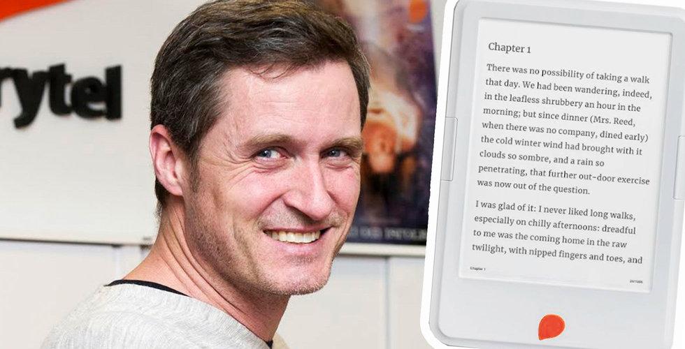 Storytel satsar på egen läsplatta – ska släppas innan sommaren