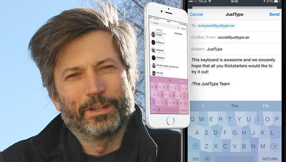 Glöm felstavningar och autocorrect med appen JustType