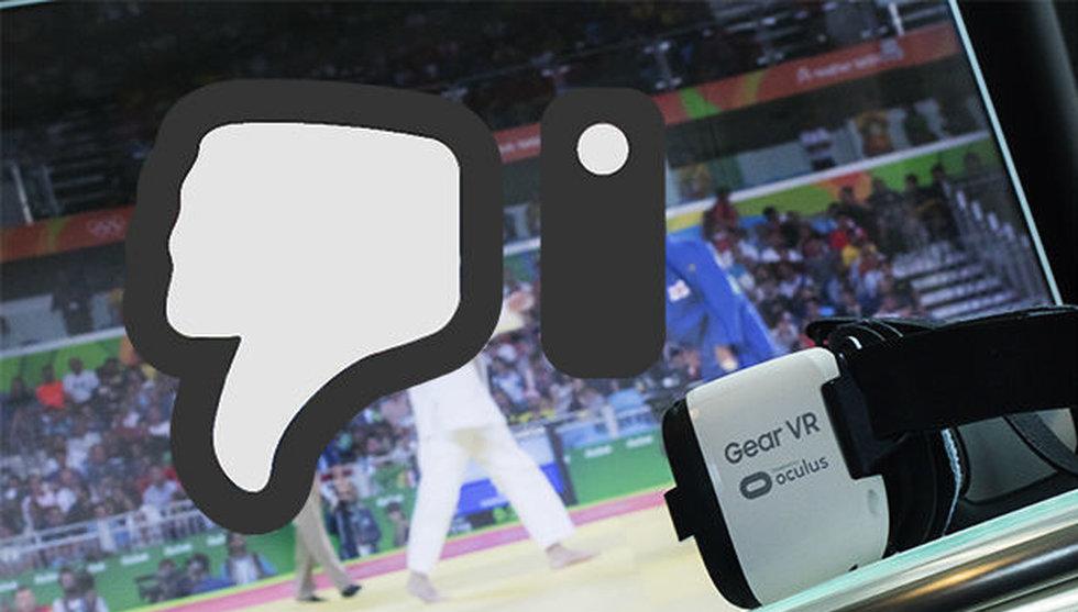 Breakit - Jag satte på mig VR-glasögon och tittade på OS – här är min dom