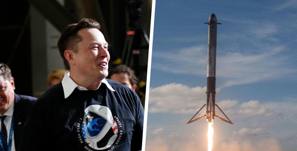 Elon Musk tror på Mars-resa 2024