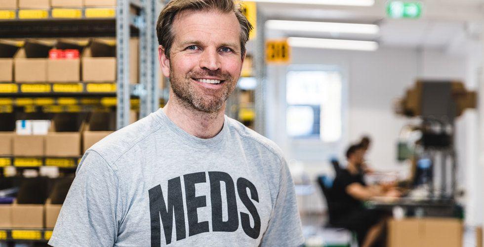 """Meds dubblar omsättningen första halvåret: """"Mycket stark vår"""""""
