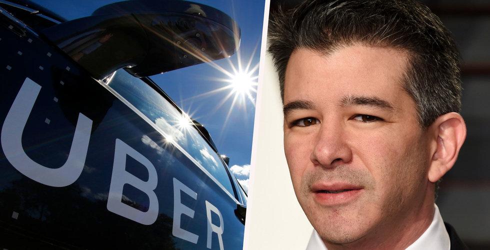 Travis Kalanick har nu dumpat Uber-aktier för 1,7 miljarder dollar