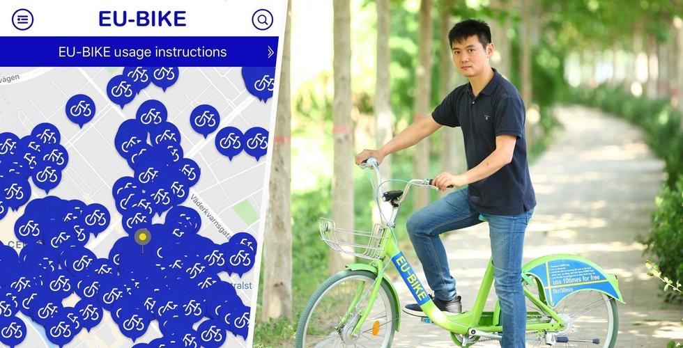 Hyrcyklarna EU-bikes kritiseras för att lura användare på pengar