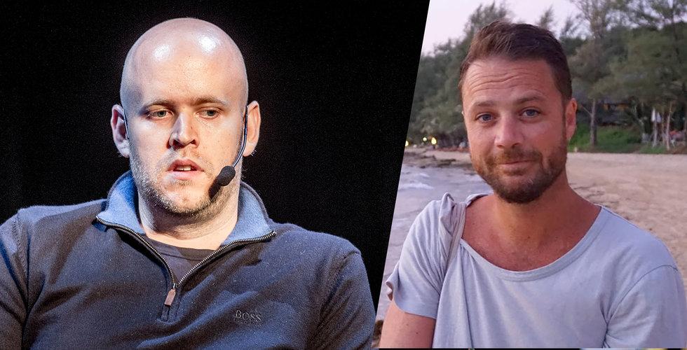 """Daniel Ek om Spotify-kollegan som dog i attentatet: """"Vila i frid, min vän"""""""