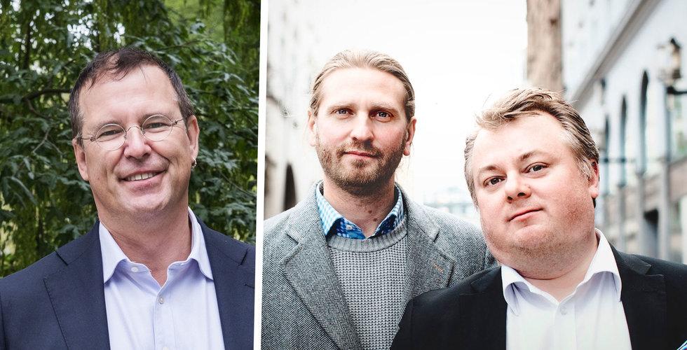 Anders Borg greppar klubban i Danads – som siktar mot börsen
