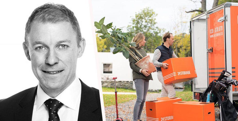 Henrik Granström blir ny vd för 24Storage