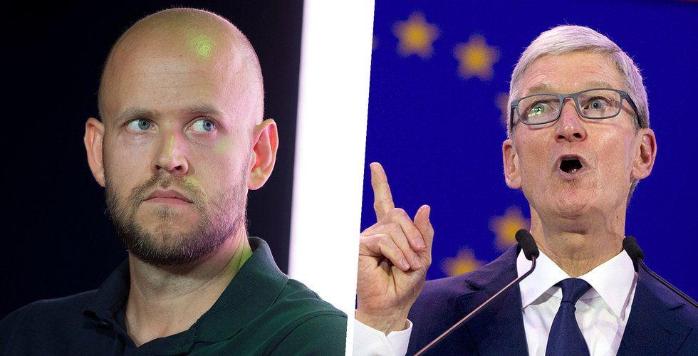 EU:s besked efter Spotifys anmälan: Apple bryter mot konkurrenslagarna