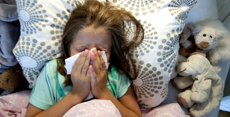 Vabruari: 6 av 10 företagare tvingas jobba hemma med sjuka barn