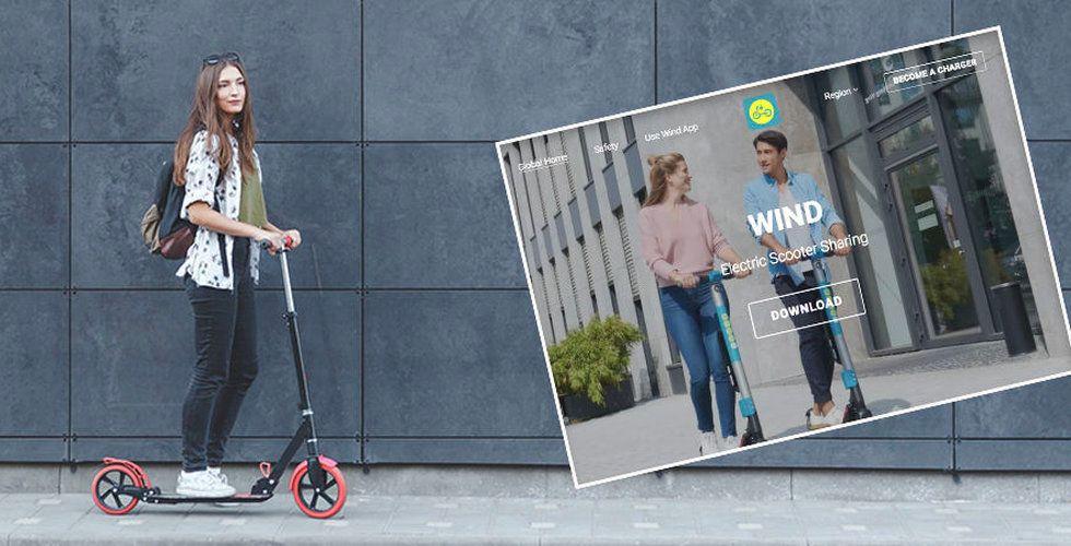 Wind Mobility tar in 200 miljoner till sina elsparkcyklar