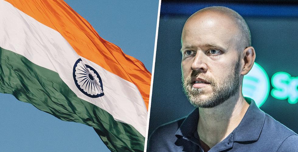 Spotify i avtal med indisk musikjätte