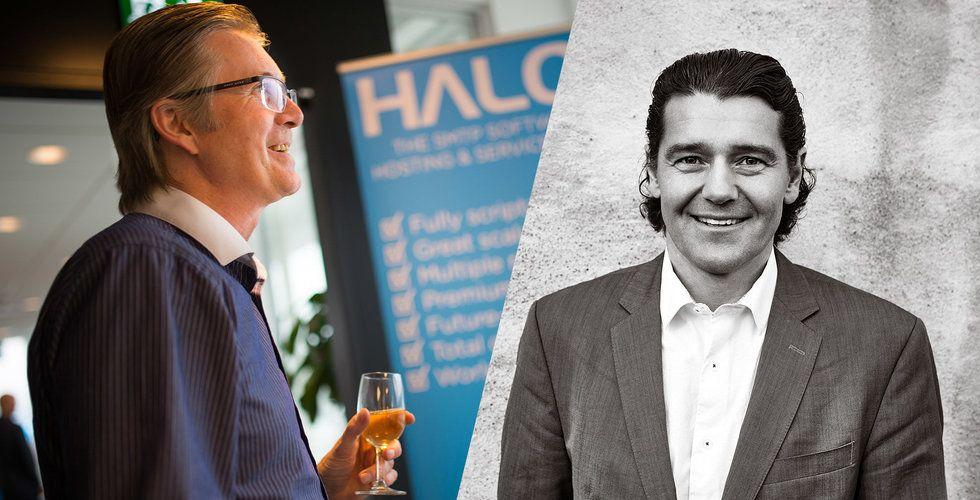 Leif Kristensson investerar i startup-företaget Halon från Göteborg