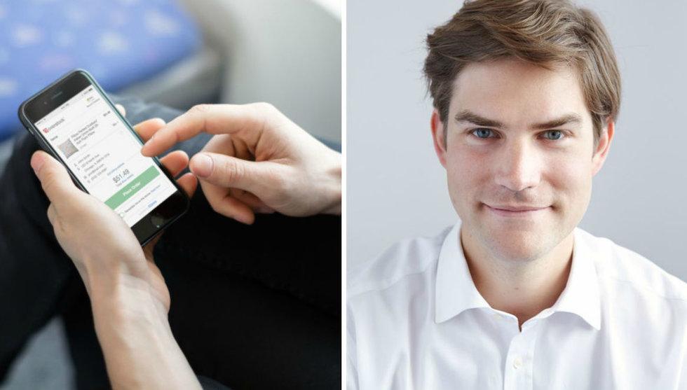 Breakit - Victor Jacobsson från Klarna startar bolag med Mikael Walther