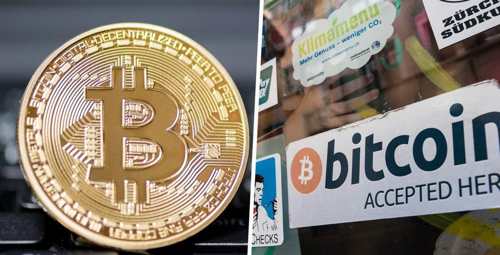 Breakit - Ny drömgräns för bitcoin i natt – klev över 12.000 dollar