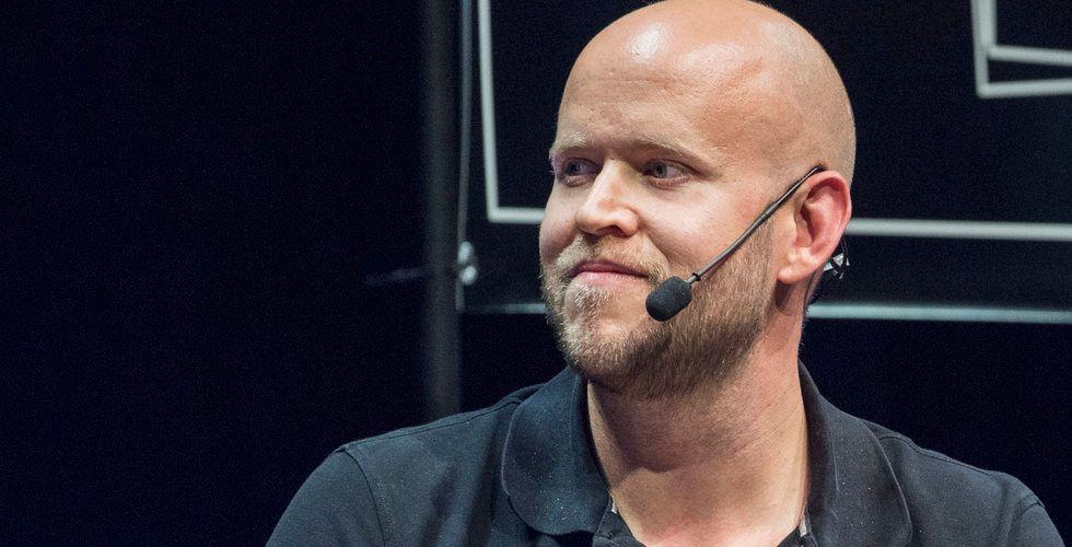 Daniel Ek säljer i Spotify